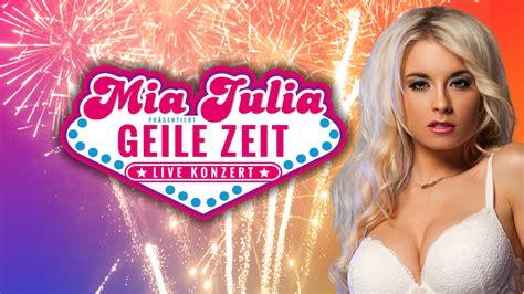 mia julia auf deutschlandtournee konzert  der aladin