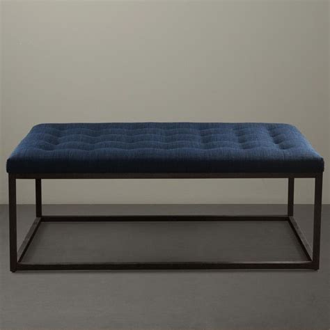 blue tufted ottoman coffee table 163 best images about living room on pinterest window