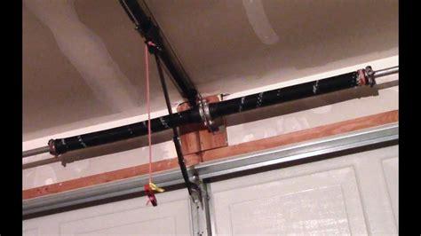 garage door torsion spring replacement   youtube