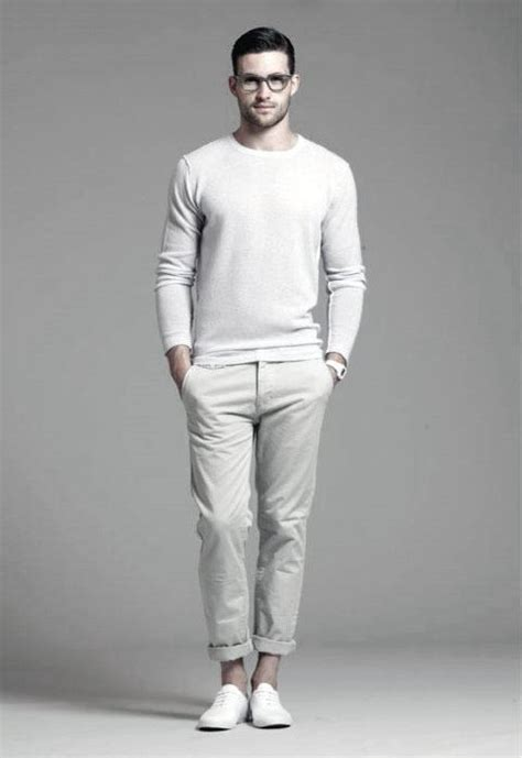 40 All White Outfits For Men - Cool Clean Stylish Looks