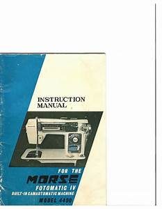 Morse Fotomatic Iv 4400 Instruction Manual Pdf Download