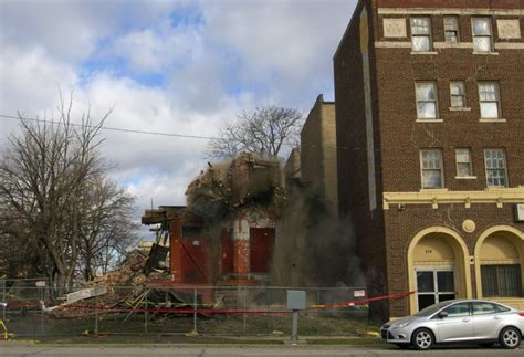 demolition  neglect  beautiful home razed  cass