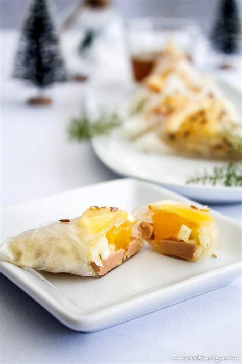 cuisiner avec du gingembre triangles de foie gras au fenouil et à l orange recette cuisine de tous les jours