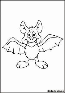 Ausmalbilder Fledermaus Kostenlos Malvorlagen Zum