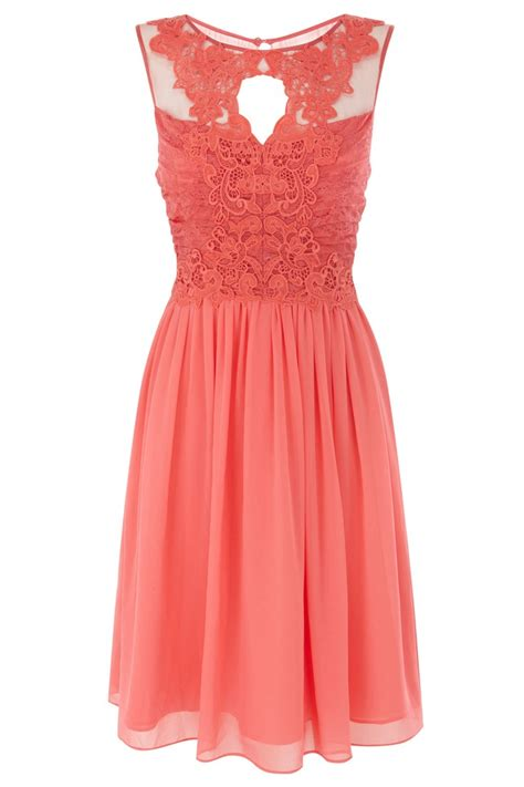 lace royal blue bridesmaids dress coral short bridesmaids