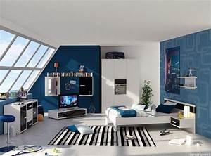 Chambre De Garcon Ikea : am nagement fonctionnel et d co chambre gar on moderne ~ Premium-room.com Idées de Décoration