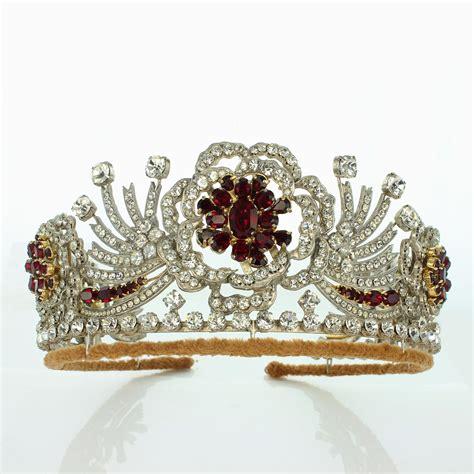 burmese ruby tiara royal exhibitions