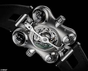 The watch that works in OUTER SPACE: Device boasts zero ...