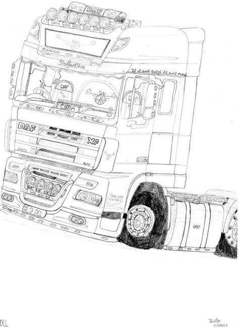 Kleurplaat Volvo Vrachtwagen by Vrachtwagen Kleurplaat Volvo Zoeken Werkatelier