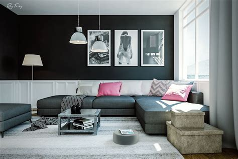 black ls for living room dramatic black ideas for painting a living room ifresh