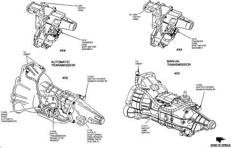 1998 Ford F150 Automatic Transmission Diagram 1998 ford ranger manual transmission the brake lights