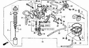 New Genuine Honda Oem 250 Recon New In Box Carburetor 1999