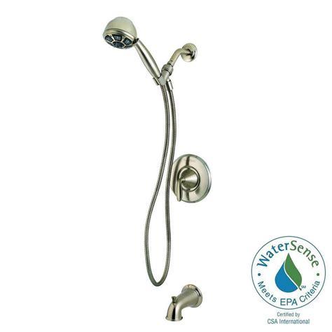 Pfister Handheld Shower - pfister pasadena single handle 3 spray tub and shower