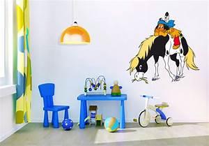 Leuchtsterne Für Kinderzimmer : wandtattoo yakari mit kleiner donner 02 kinderzimmer ~ Michelbontemps.com Haus und Dekorationen