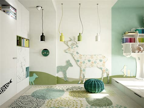 Creative Kids Bedrooms With Fun Themes