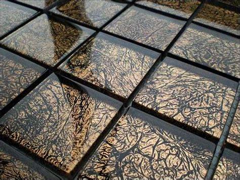 Glasmosaik Fliesen Bad by Mosaik Fliesen Gold Glasmosaik Fliesen Gold 15x15x4mm