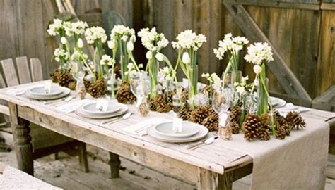 winter tablescapes  love ces judys catering
