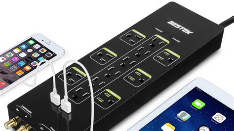 power usb surge ports strips bestek roundup protector protection safely quickly charge devices joules outlets