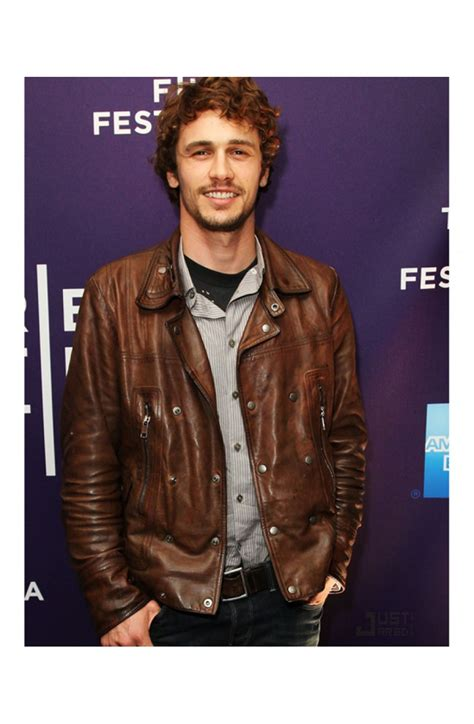 brown biker style biker style james franco brown leather jacket for mens