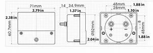 Hho Dry Cell Kit 30  40  50 Amp Ammeter Meter Internal Shunt