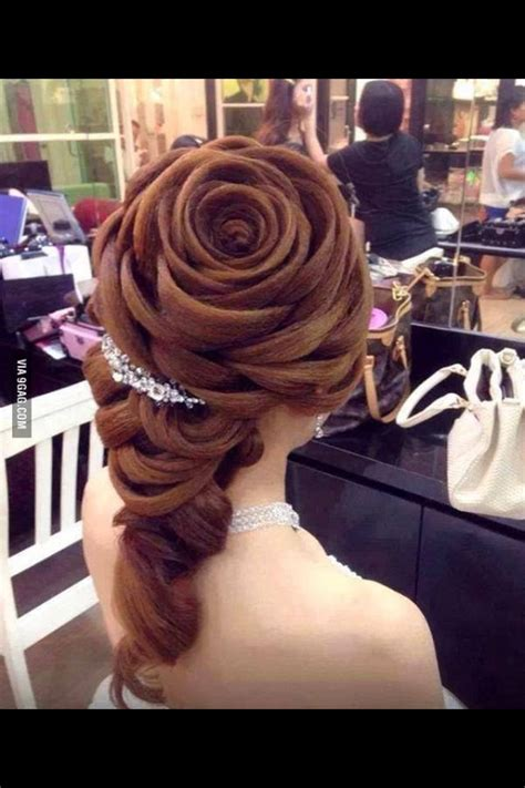 rose braid  waaaauuuw hairstyles disney hair