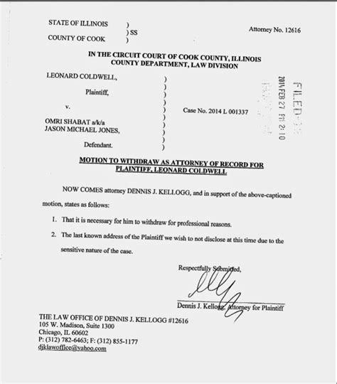 free consent to change attorney form 23 images of template for motion to withdraw gal netpei
