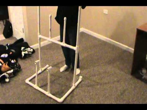 fan for hockey drying rack hockey gear drying rack youtube