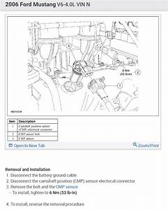 Camshaft Position Sensor Location   Where Is Bank 1 Of The
