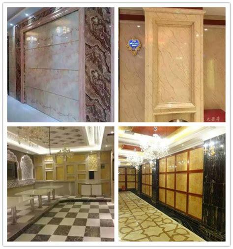 uv coating pvc marble sheet glossy printing  mj