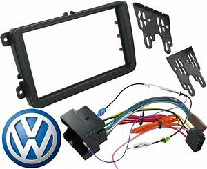 Vw Polo 2009 On Double Din Stereo Facia Fitting Kit Panel
