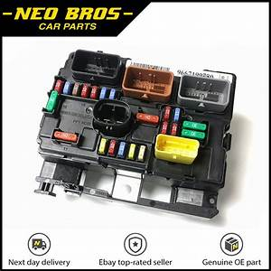 Genuine Engine Bay Fuse Box  Bsm  For Citroen C3 Picasso Peugeot 207  6500hw