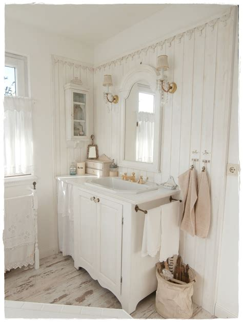 Kleines Bad Landhausstil by Bathroom Shabby Chic And White Shabbylandhaus