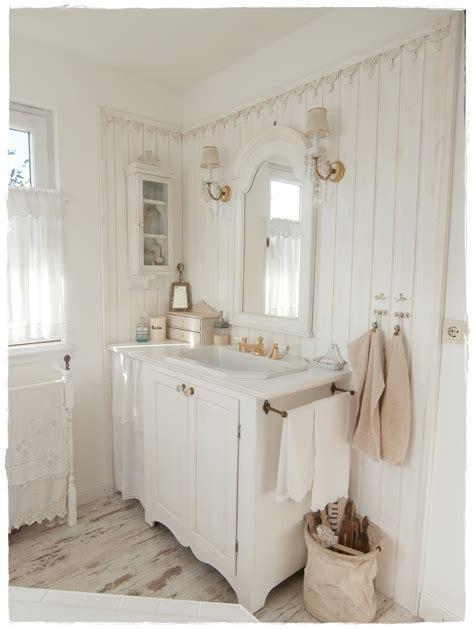 Badezimmer Fliesen Shabby Chic by Bathroom Shabby Chic And White Shabbylandhaus