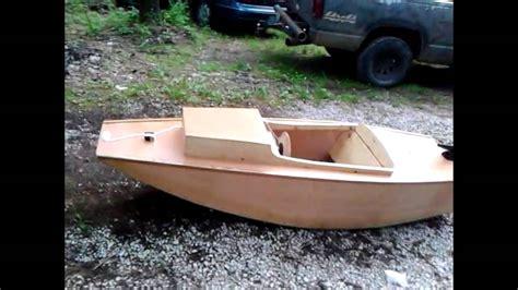 wood boat projectserenity youtube