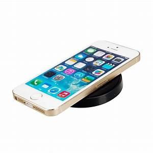 Recharge Telephone Sans Fil : station de recharge qi sans fil universel tout smartphone noir ~ Dallasstarsshop.com Idées de Décoration