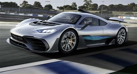 Mercedes-amg Project One Storms Into Frankfurt; New