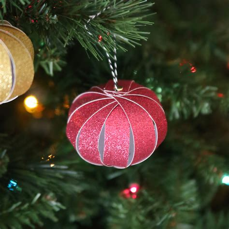 easy paper strip christmas ornaments kids can make it s