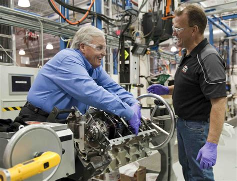 rick hendrick builds   corvette engine autoguide