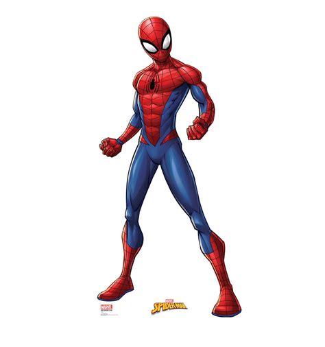 Lifesize Spiderman (marvel Comics) Cardboard Standup
