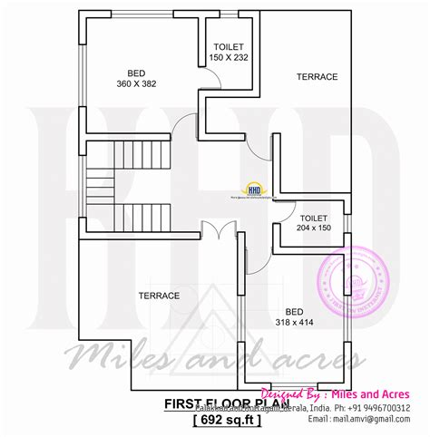 floor planner 1767 square house plan kerala home design and floor