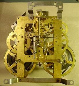 E  Imgraham Co  Stratford Black Mantel Clock  1929