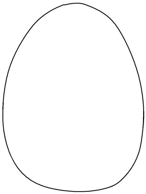 printable easter egg coloring pages coloringpagebook