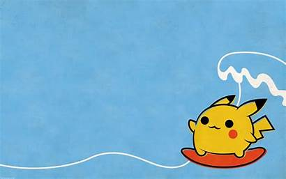 Pikachu Pokemon Surfing Wallpapers Backgrounds Waves Background