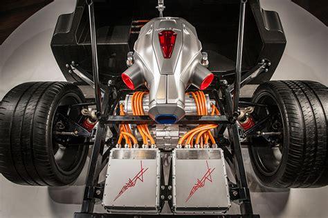 electric turbine hybrid powered supercar jet trev techrules formula generator cars 217mph china tesla technology return 1000hp power motors wheels