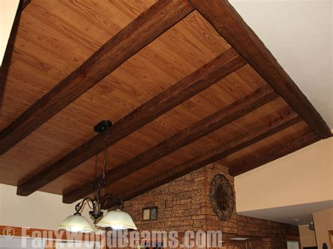 exposed wooden beams exposed wood beams made easy faux wood workshop