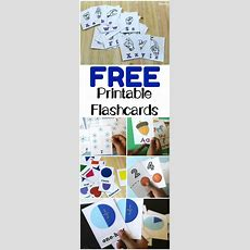 Plenty Of Free Printable Flashcards For Preschoolers And Elementary Students!  Homeschool Ideas