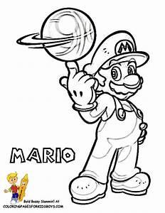 Dessin De Mario Et Luigi Az Coloriage