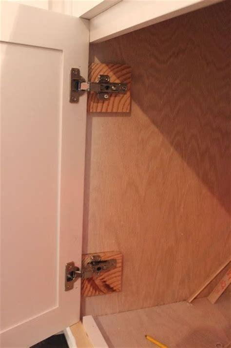 installing inset cabinet door hinges diy built ins series how to install inset cabinet doors