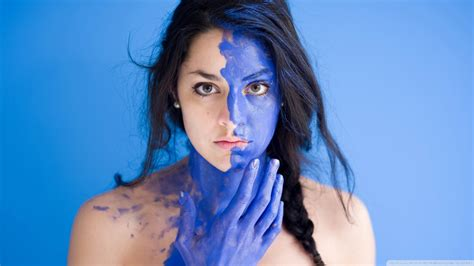 9 Blue Face Wallpapers On Wallpapersafari