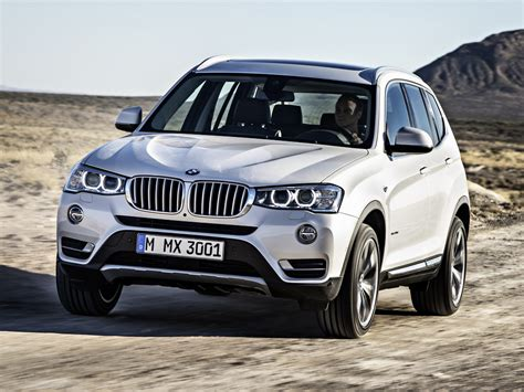 2015 Bmw X3 Facelift Unveiled